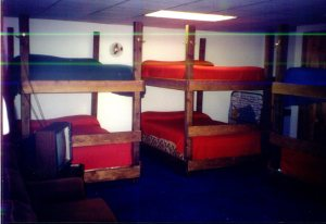 bunk beds in the bunk house manistee county MI
